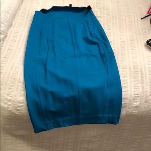 Express midi pencil skirt